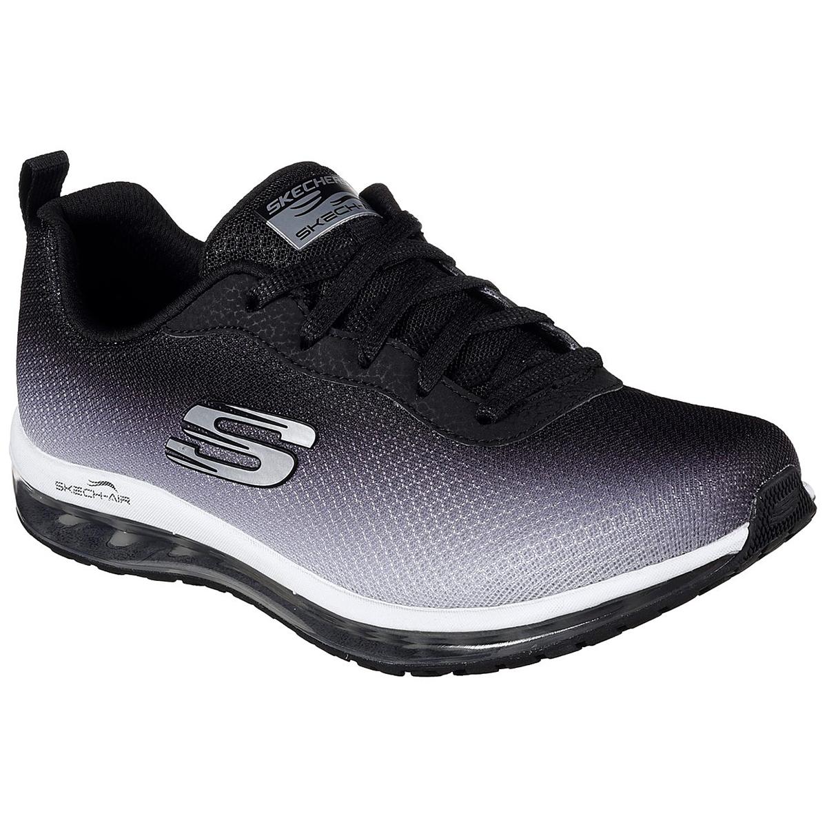 Skechers Women's Skech Air Element Sneakers - Black, 7.5