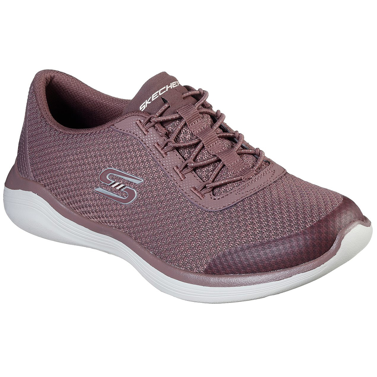 Skechers Women's Envy - Good Thinking Sneaker - Purple, 6.5