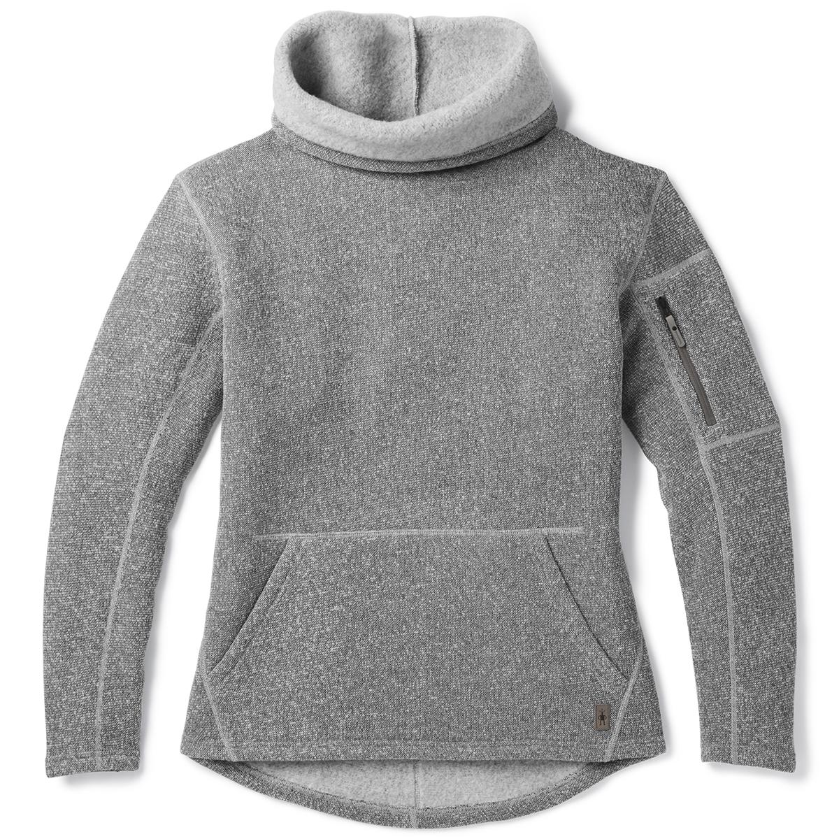 Smartwool Women's Hudson Trail Pullover Fleece Sweater - Black, S