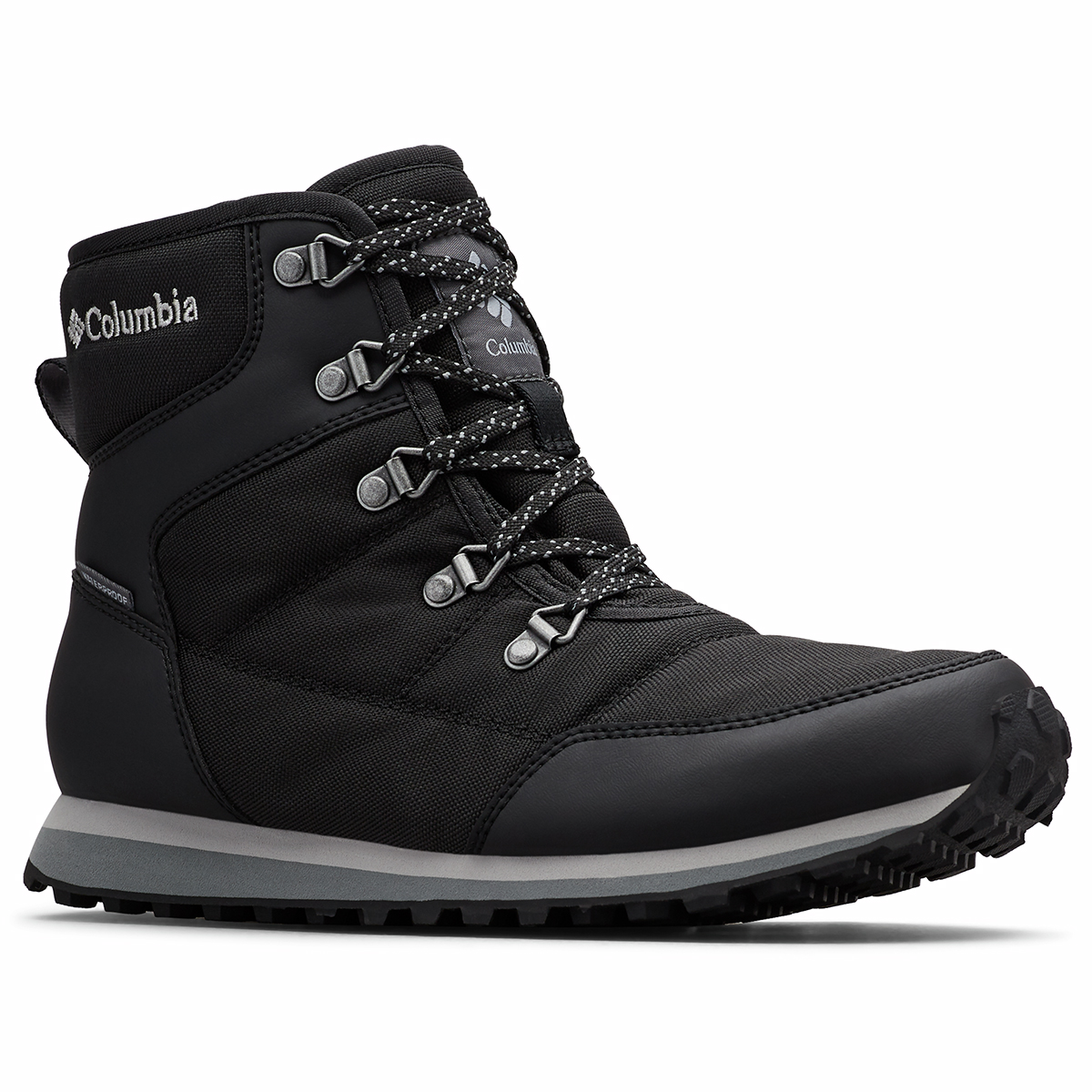 Columbia Women's Insulated Wp Wheatleigh Shorty Boots - Black, 8.5