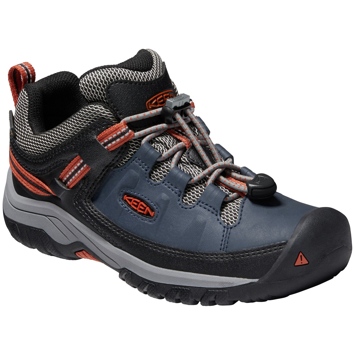 Keen Kids' Targhee Hiking Shoe - Blue, 4