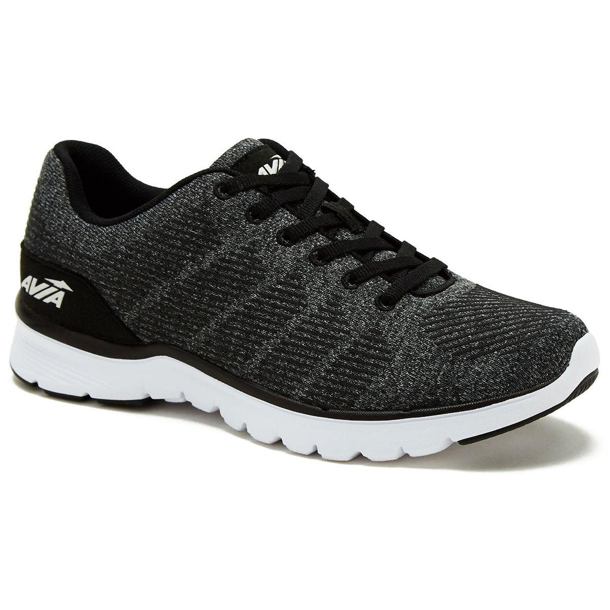 Avia Women's Avi-Rift Running Shoes, Wide - Black, 8.5
