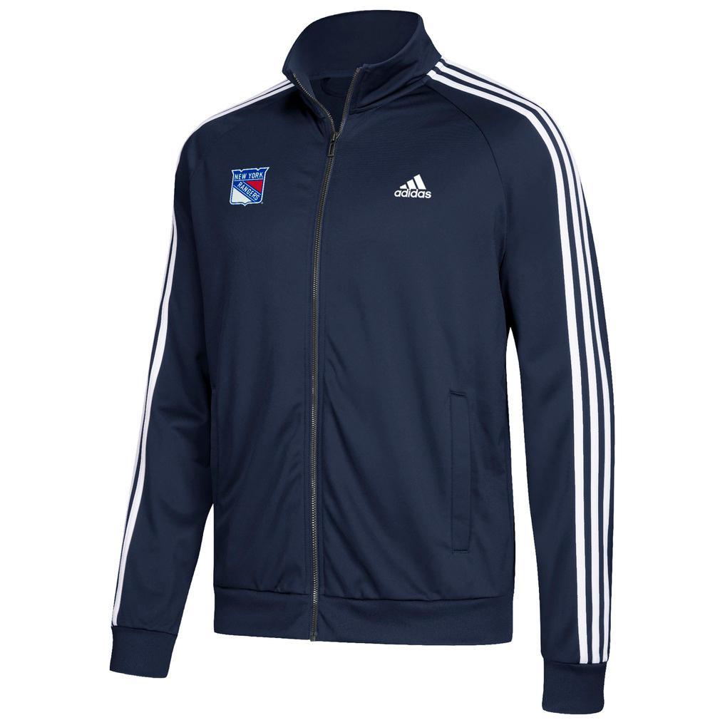 Adidas Men's New York Rangers Track Jacket - Blue, XXL