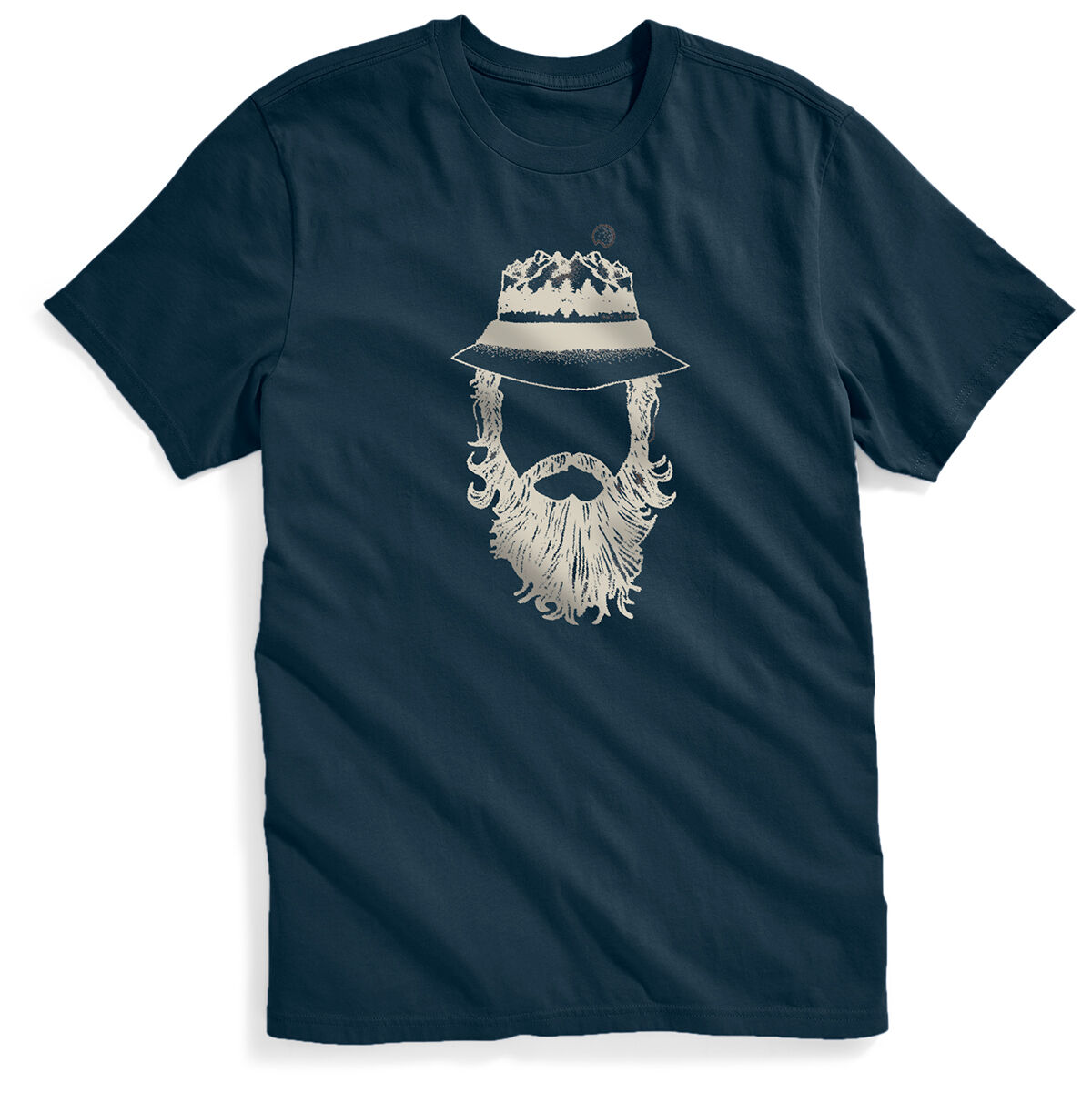 Ems Men's Mountain Man Short-Sleeve Graphic Tee - Blue, S
