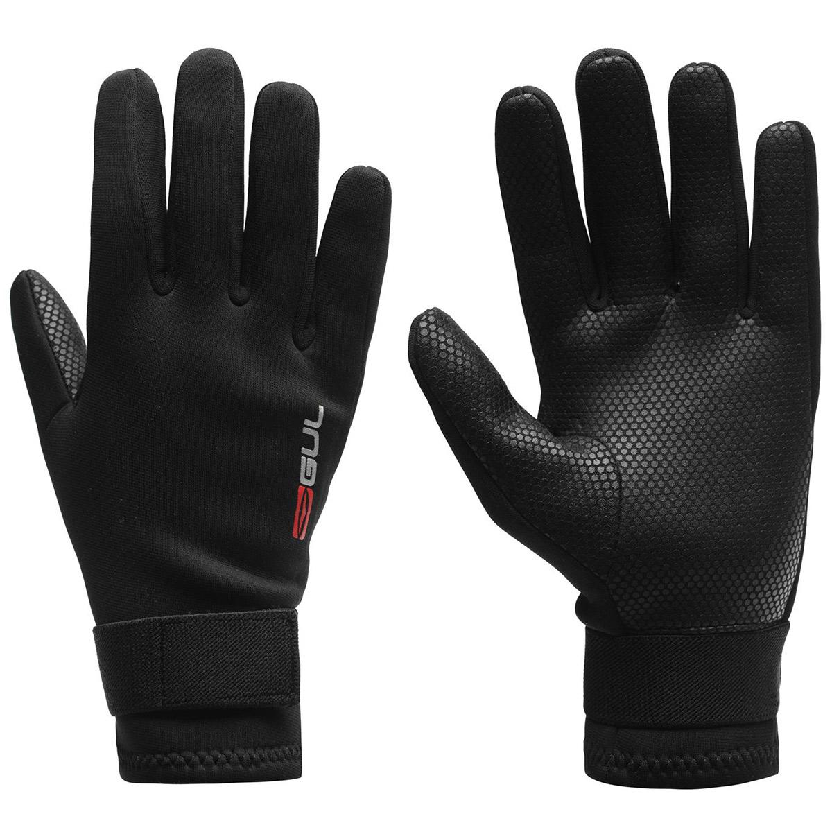 GUL Unisex Water Sports Gloves - Black, S