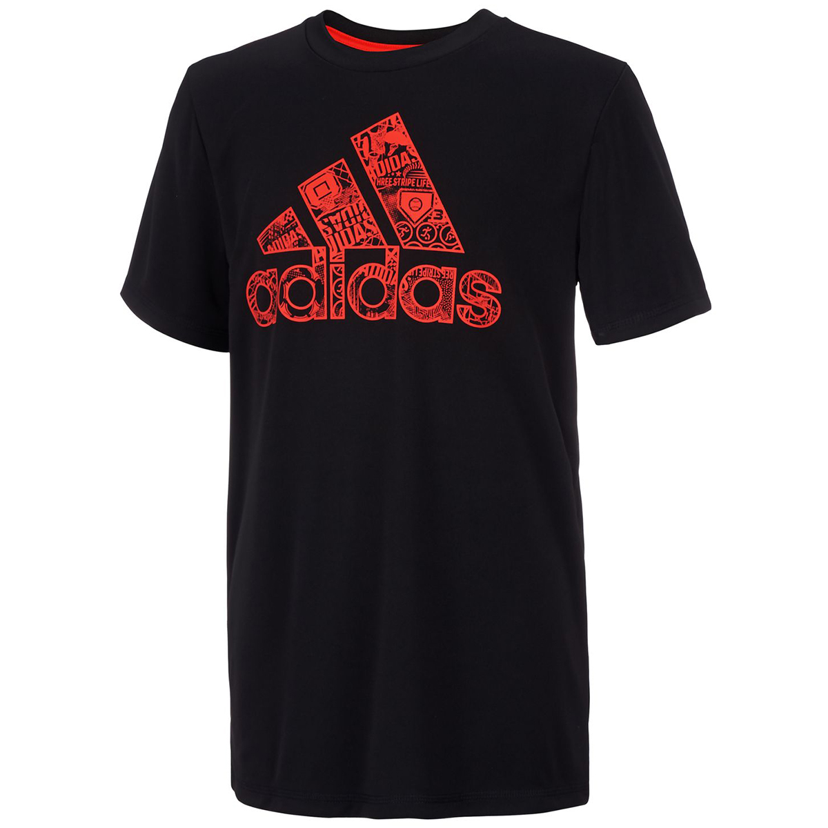 Adidas Boys' Multi Sport Tee - Black, S