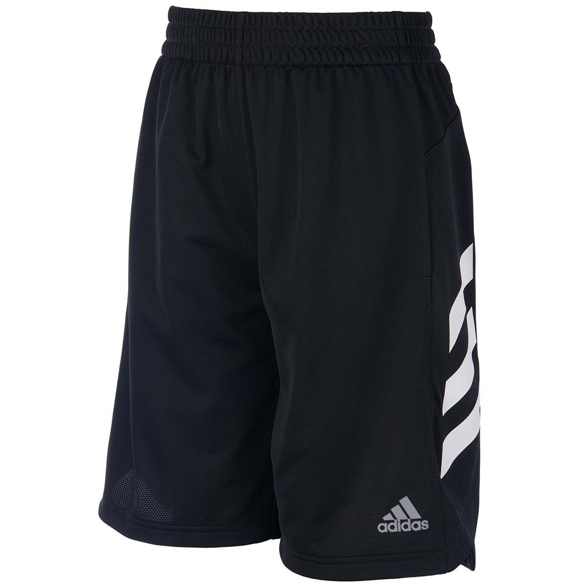 Adidas Boys' Sport Shorts - Black, L