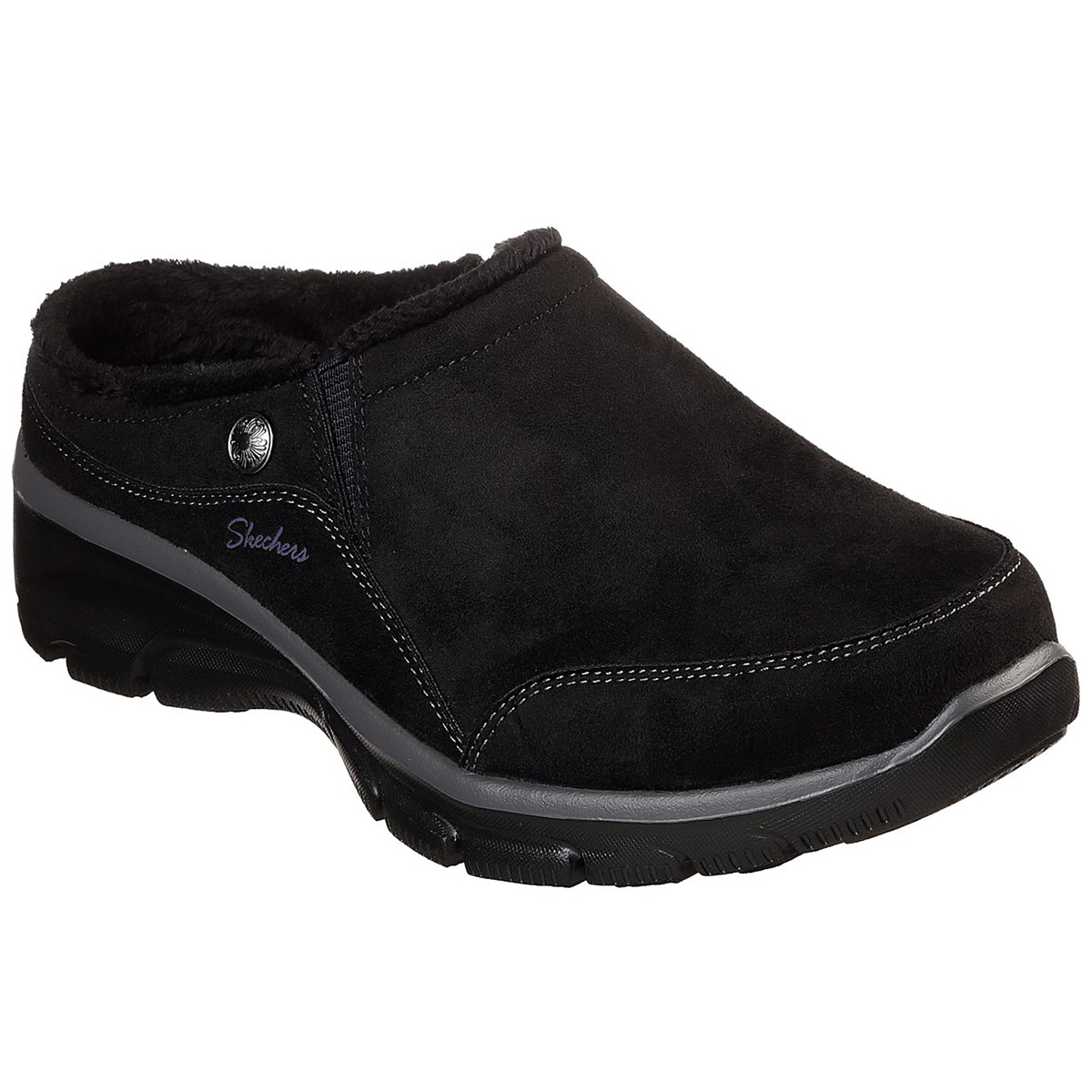Skechers Women's Relaxed Fit Easy Going Shoes - Black, 9