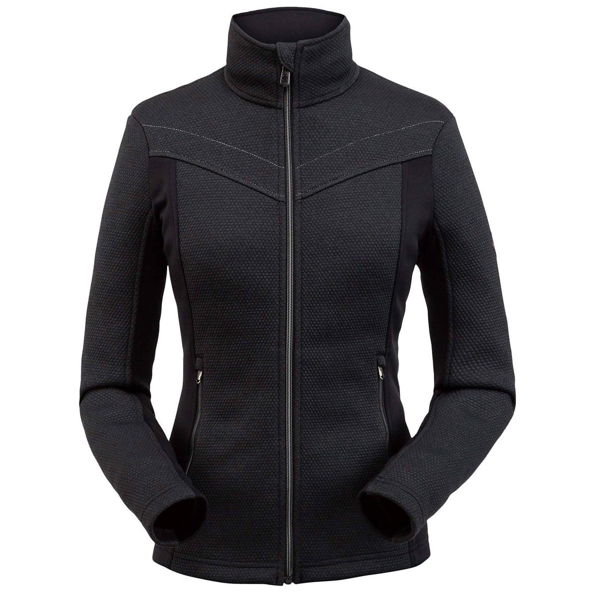 Spyder Women's Encore Full Zip Fleece Jacket - Black, XL