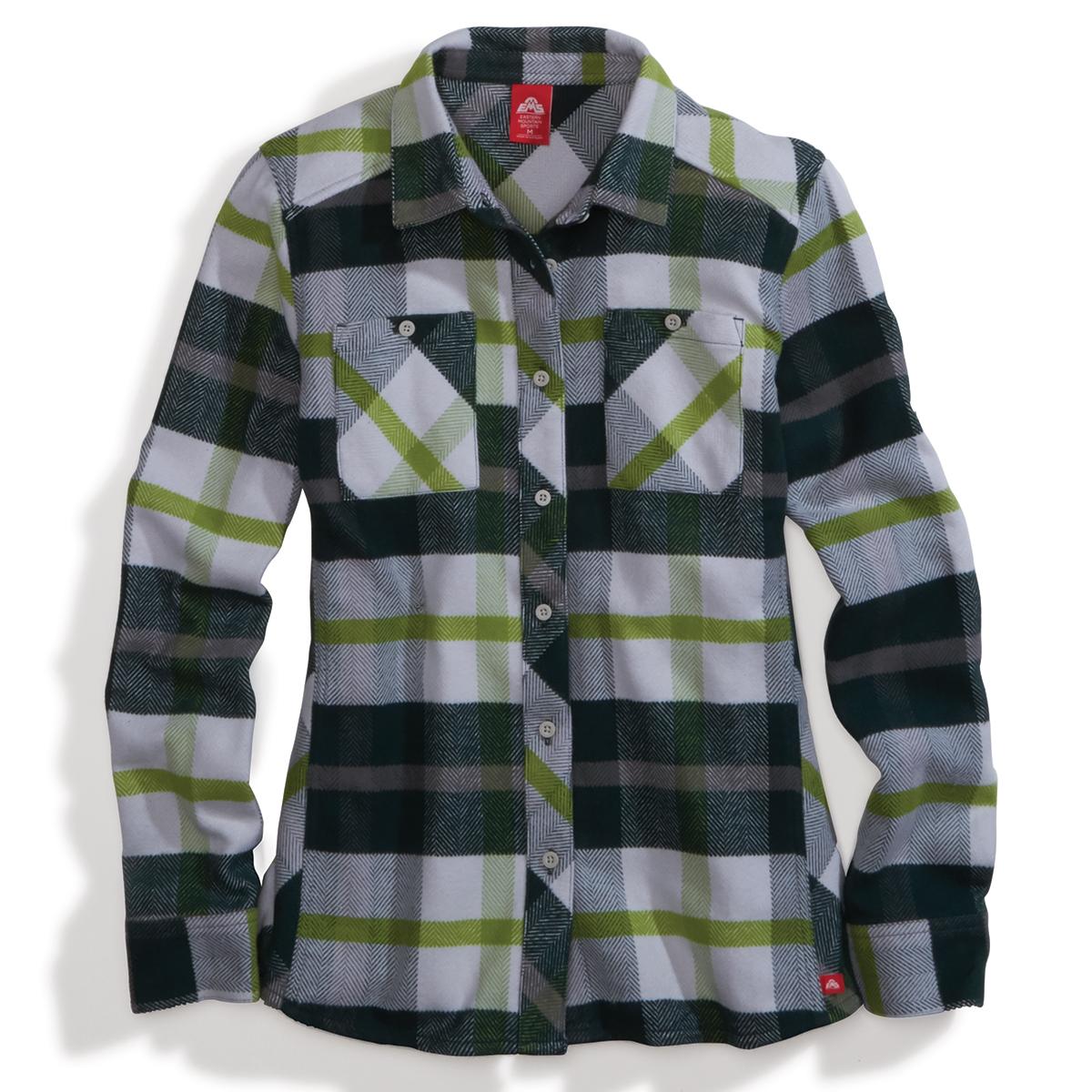 Ems Women's Cabin Flannel - Green, XS