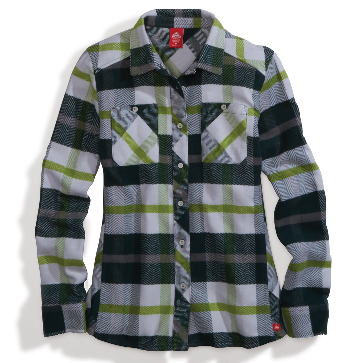 Ems Women's Cabin Flannel - Green, XL