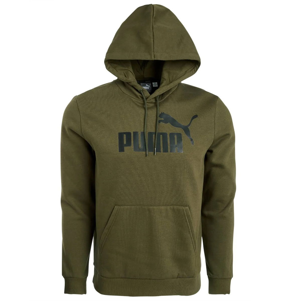 Puma Men's Essential Fleece Hoodie - Black, XXL