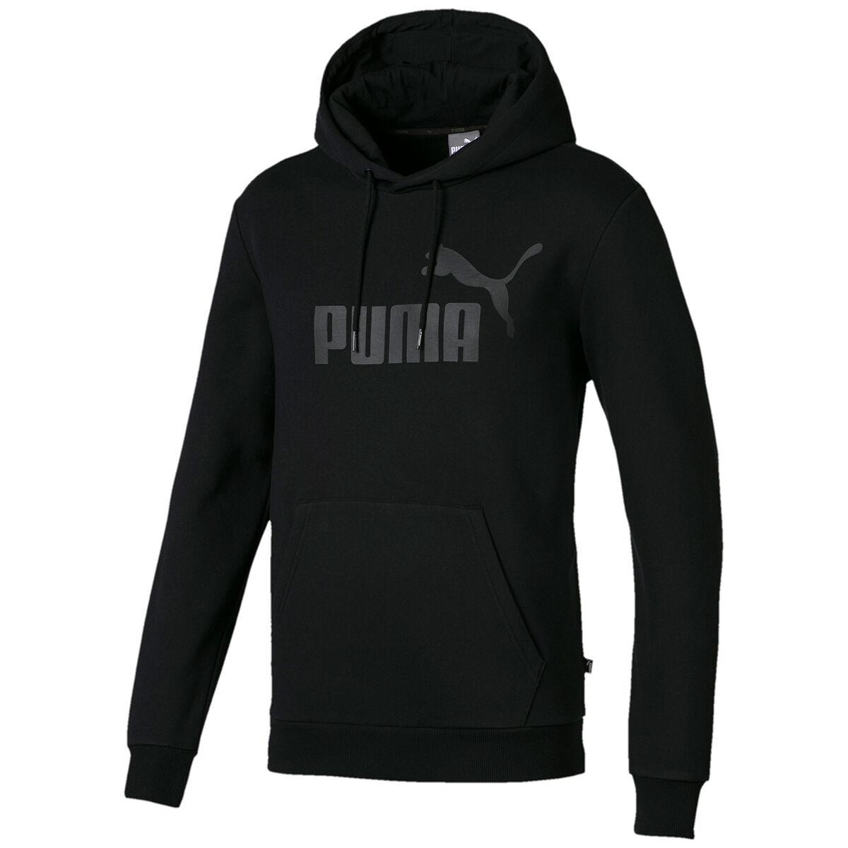 Puma Men's Essential Fleece Hoodie - Black, S
