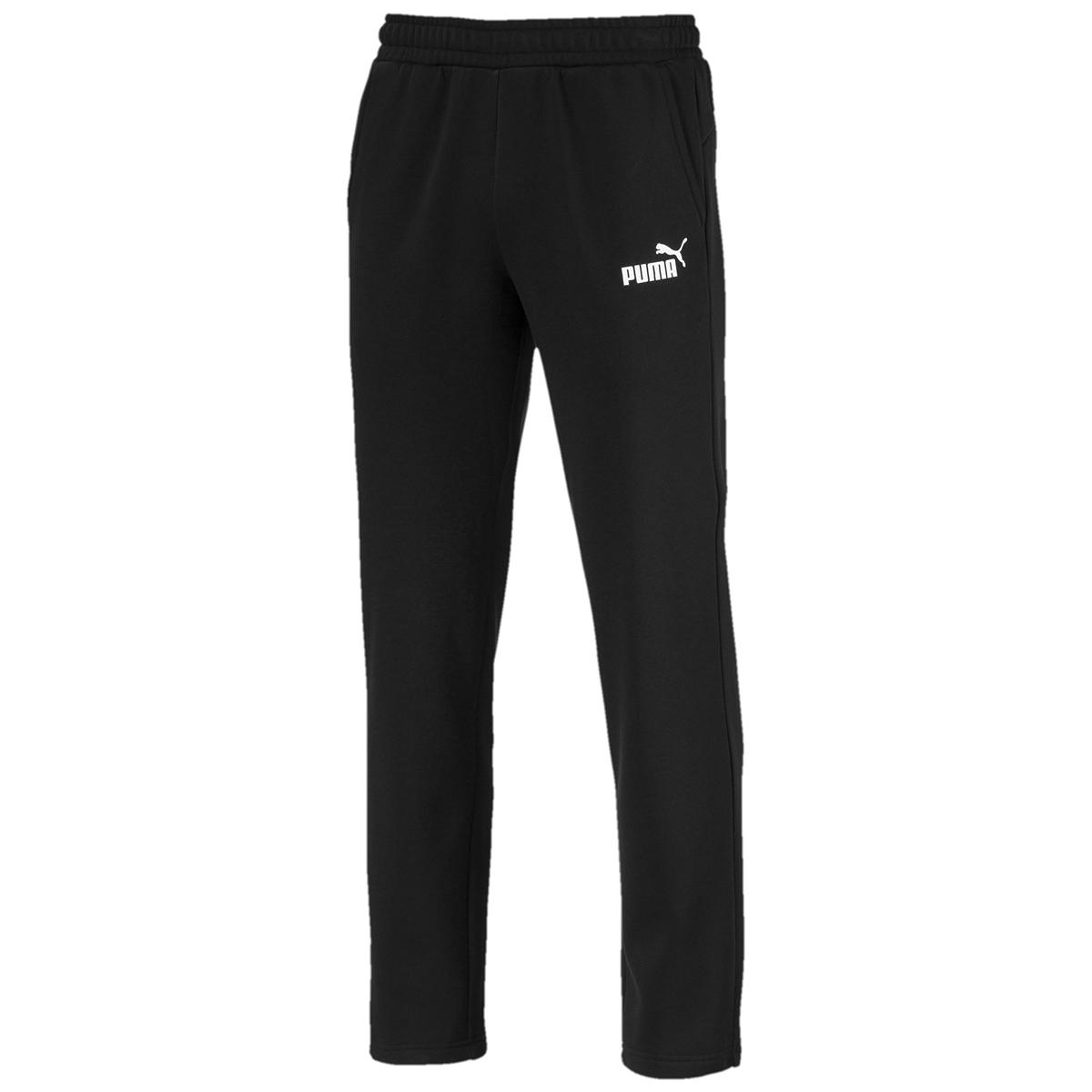 Puma Men's Essential Logo Pants - Black, XXL