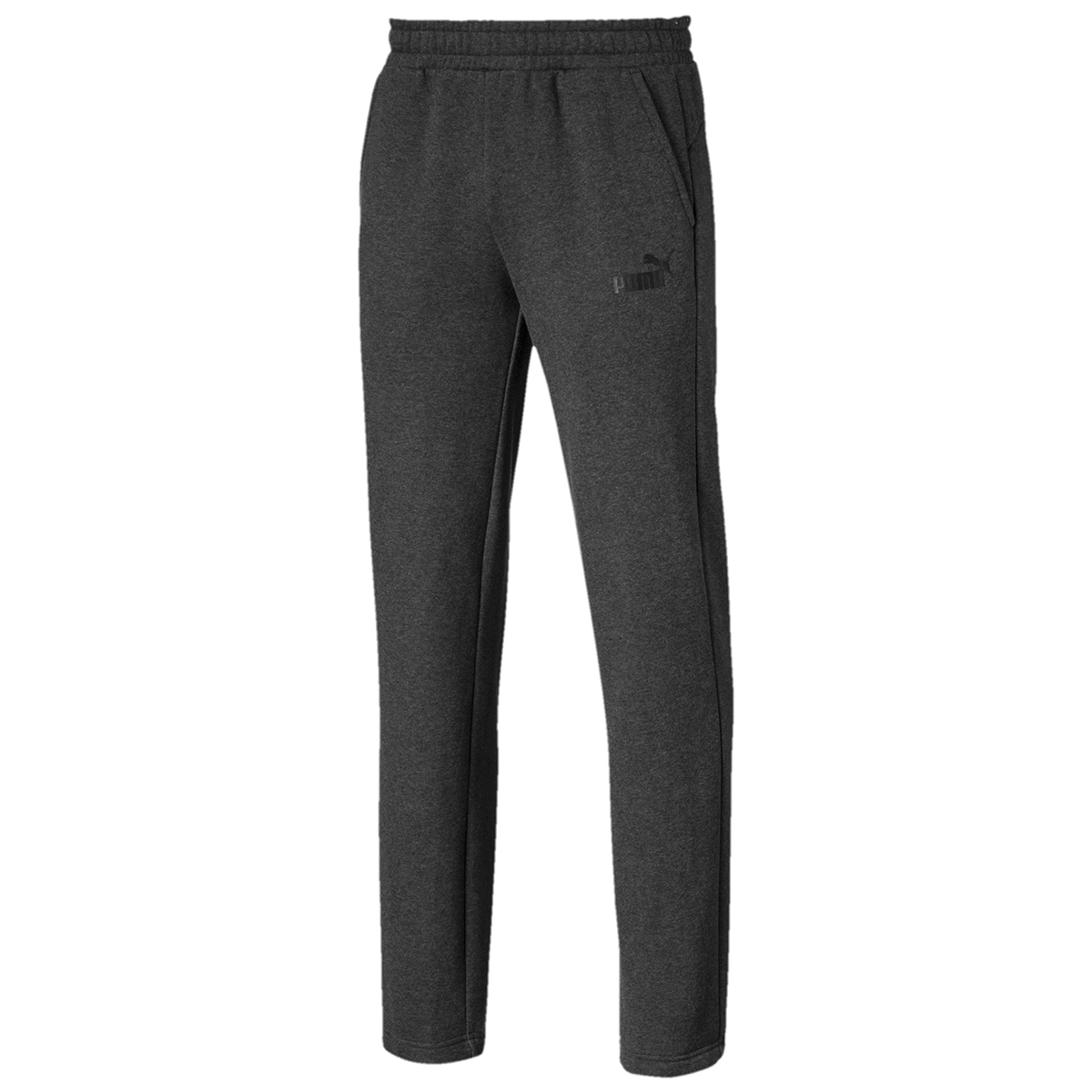 Puma Men's Essential Logo Pants - Black, XL