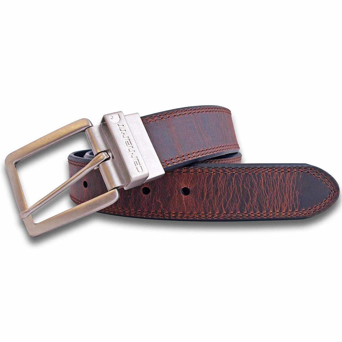 Carhartt Men's Reversible Belt - Brown, 44