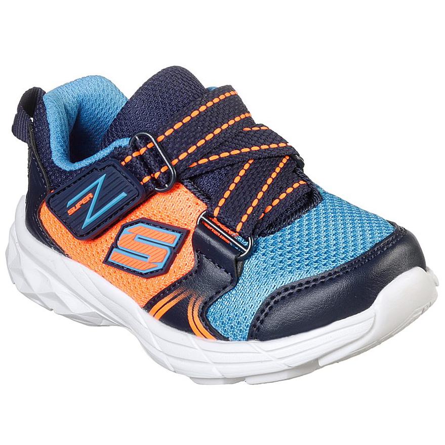 Skechers Boys'  Eclipsor Swift Blast Athletic Shoes - Blue, 9