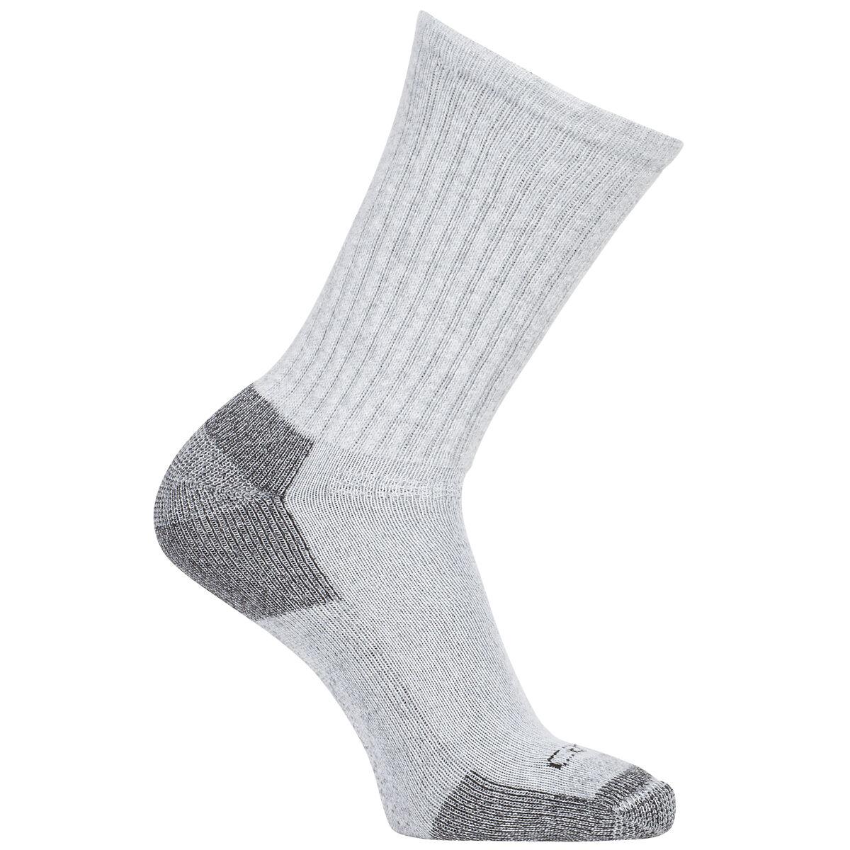 Carhartt Men's All Season Cotton Crew Sock - Black, L