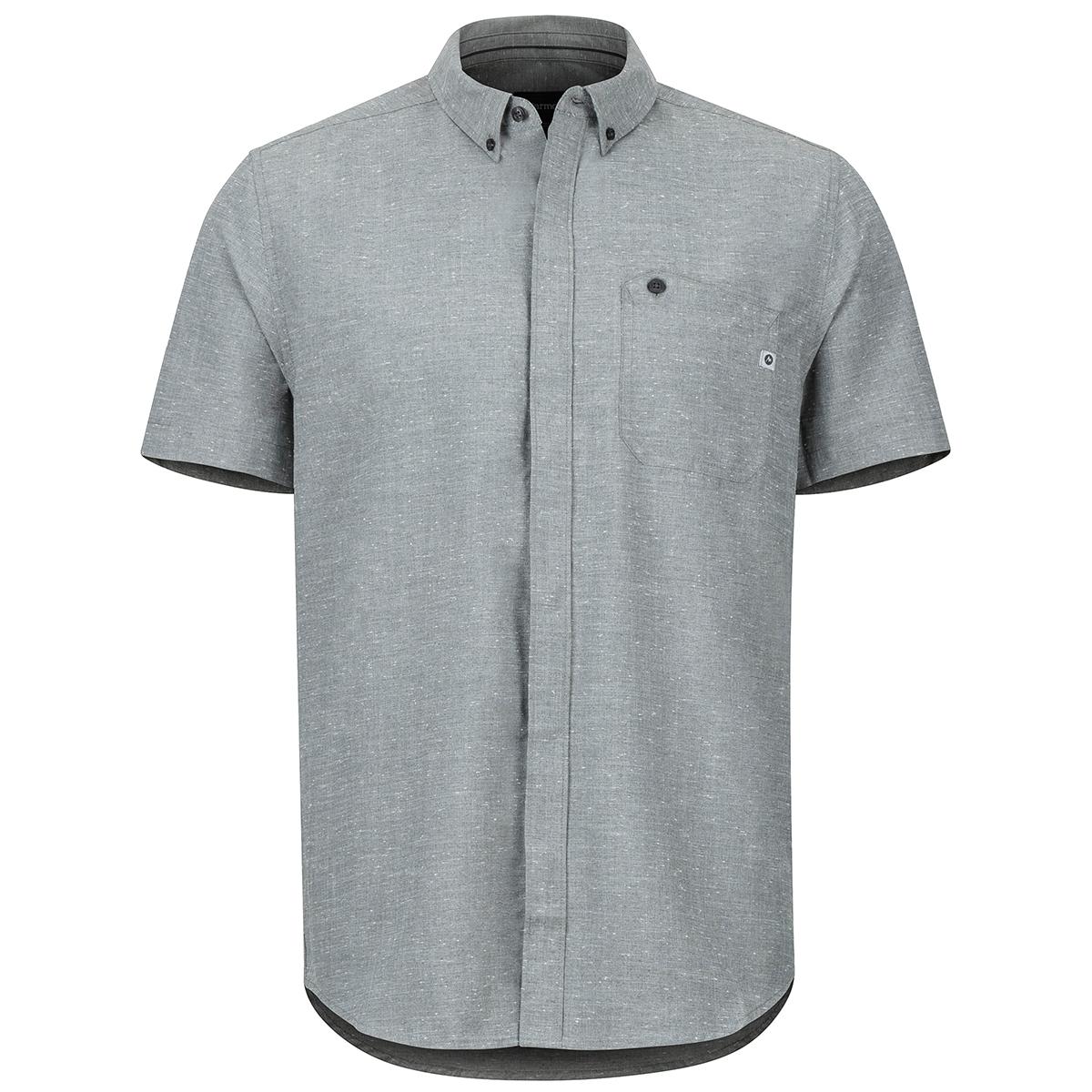 Marmot Men's Cooper Canyon Short-Sleeve Shirt - Black, M