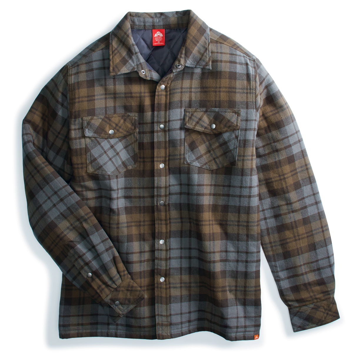 Ems Men's Timber Lined Flannel Shirt - Green, S