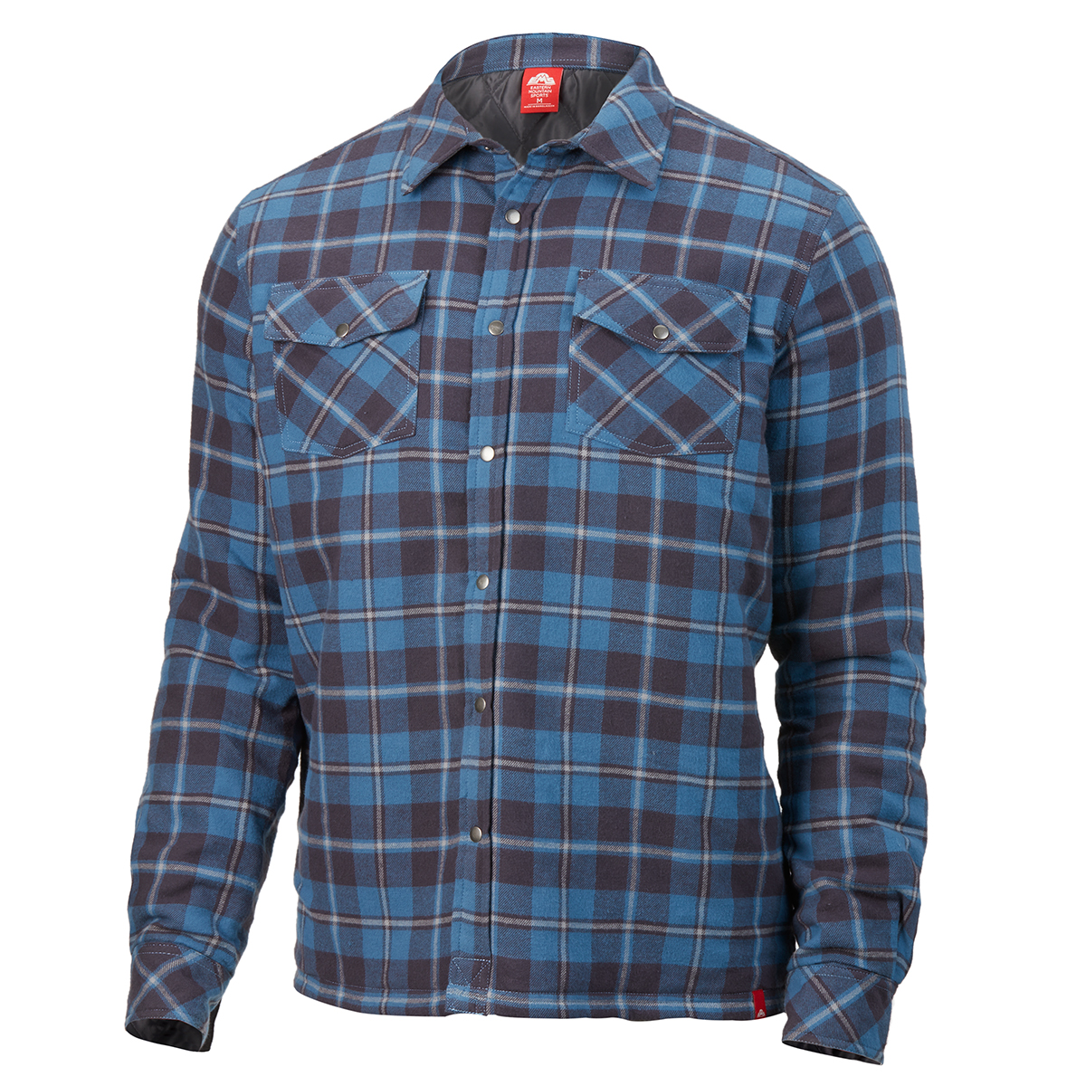Ems Men's Timber Lined Flannel Shirt - Blue, S
