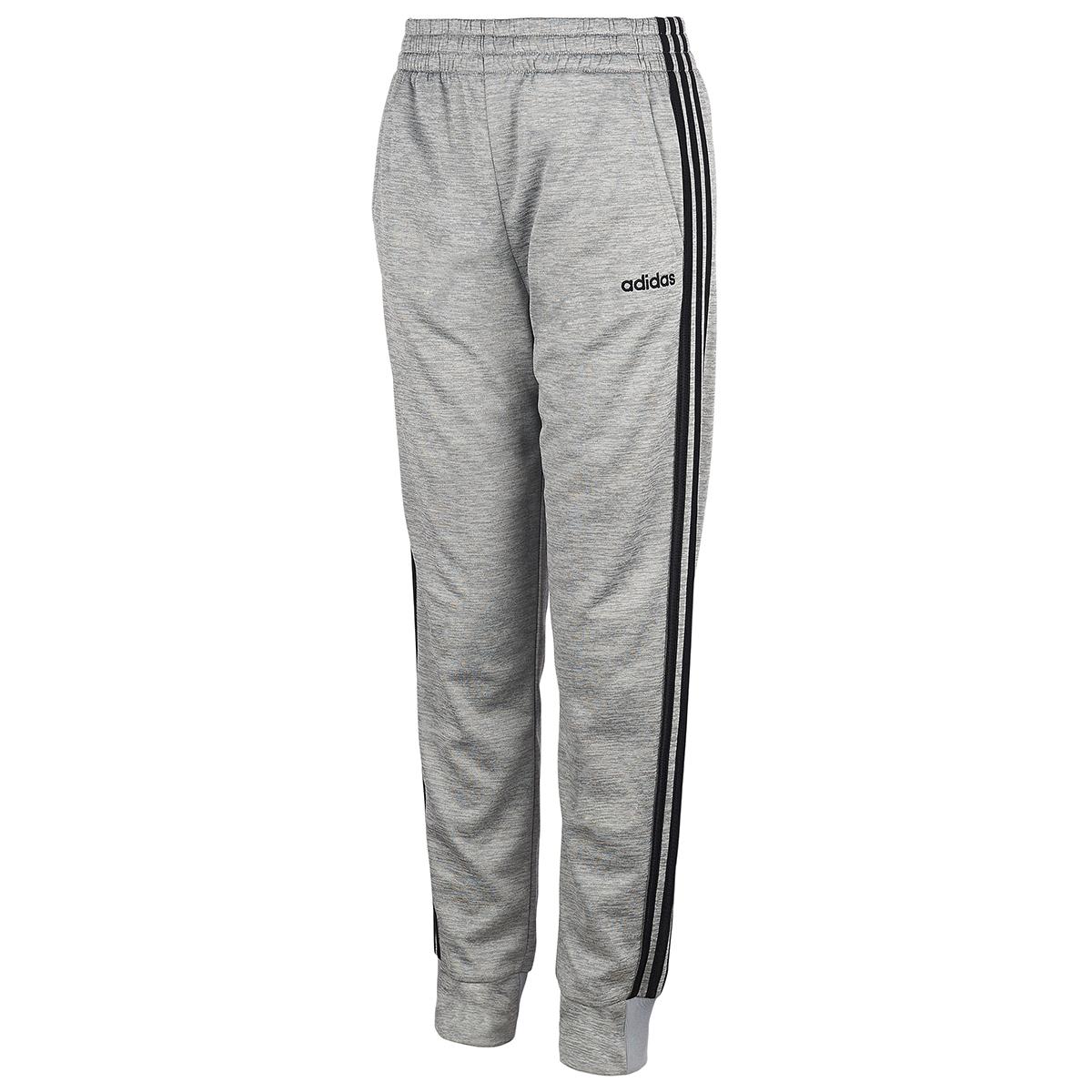 Adidas Boys' 8-20 Core Pants - Black, L