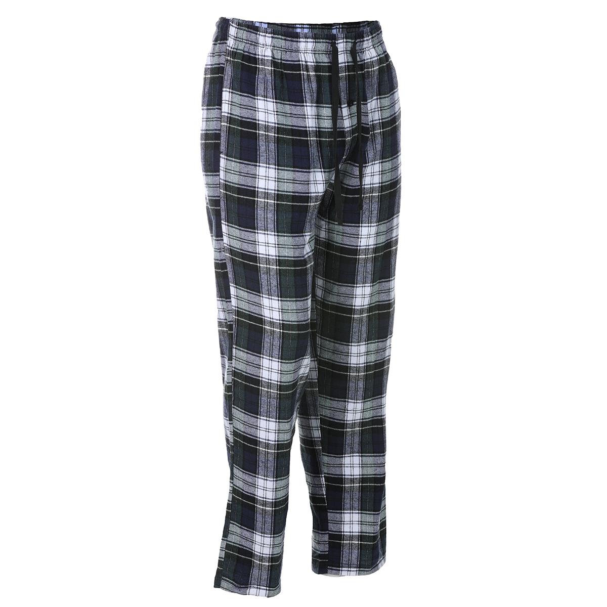 Ems Men's Flannel Lounge Pants - Green, M