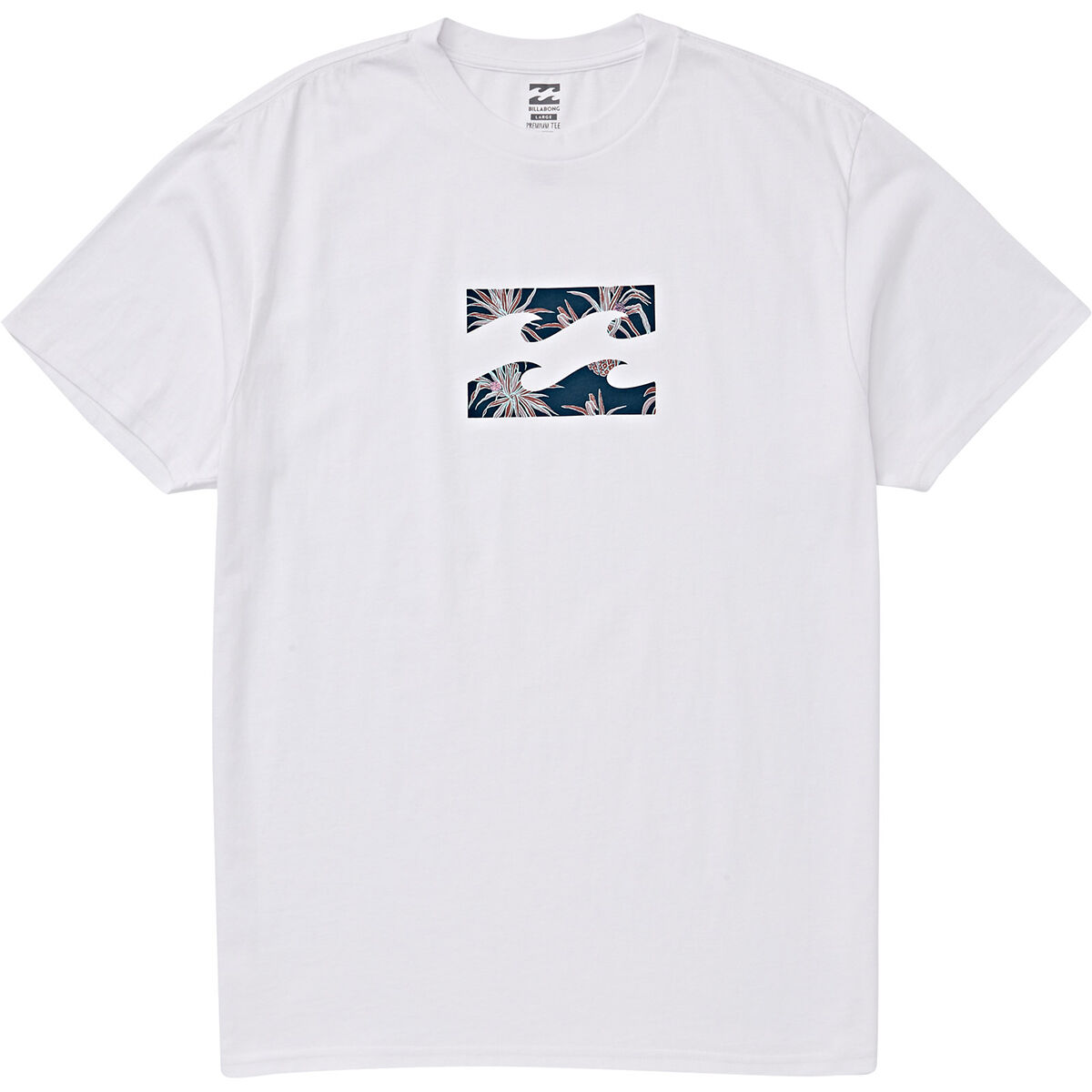 Billabong Men's Teamwave Short-Sleeve Graphic Tee - White, XL