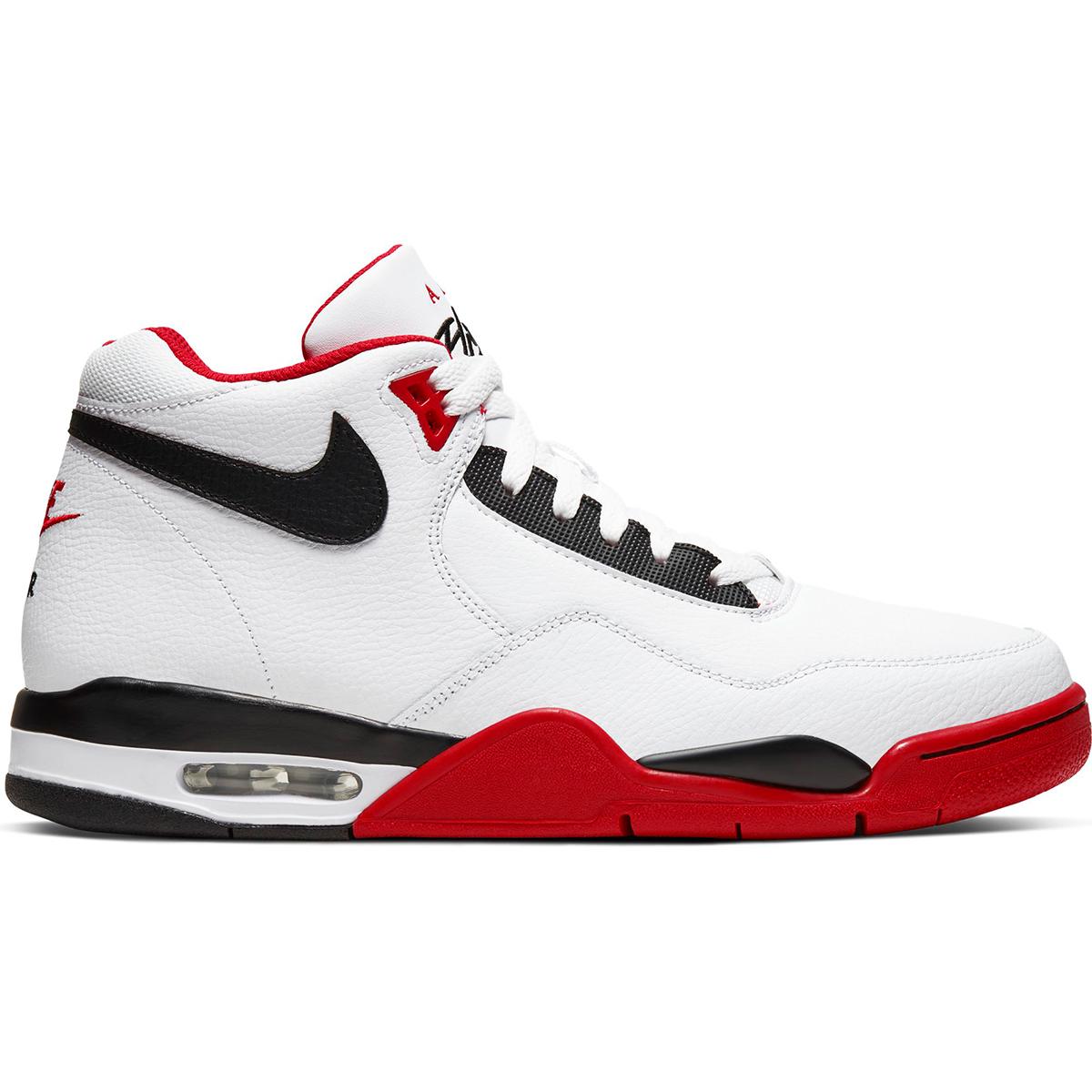 Nike Men's Flight Legacy Basketball Shoes - White, 8.5