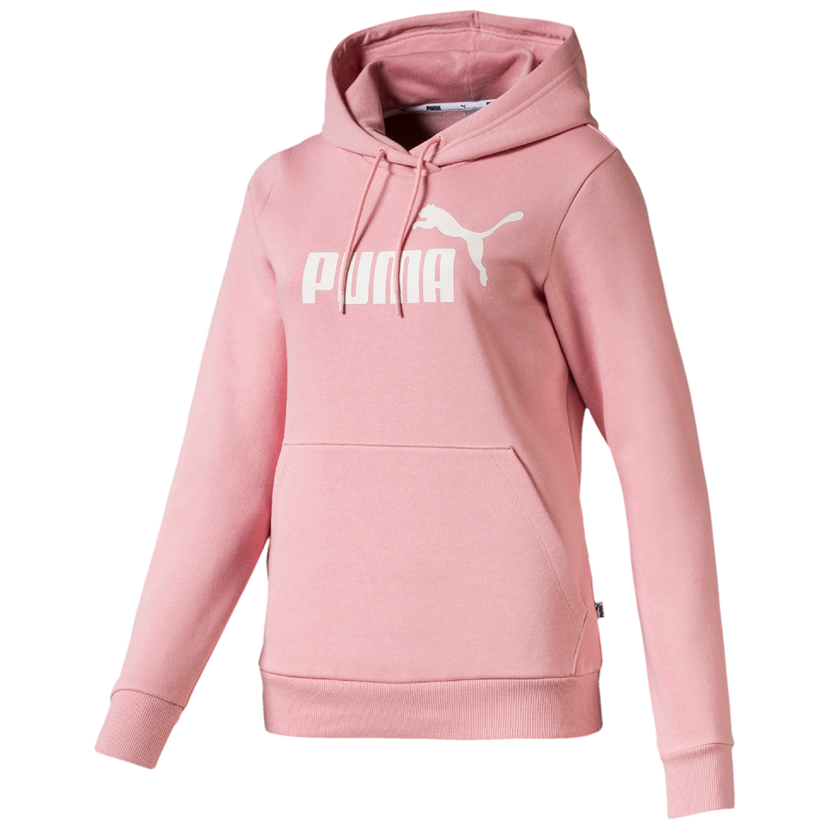 Puma Women's Essential Fleece Hoodie - Red, XL