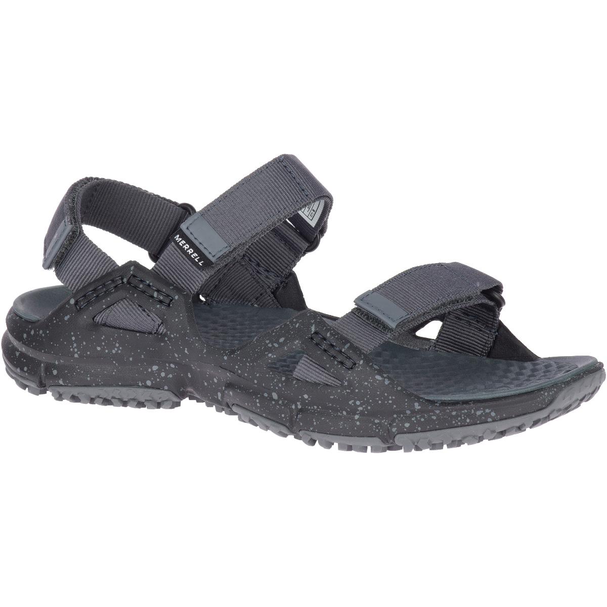 Merrell Women's Hydrotrekker Strap Sandal - Black, 6