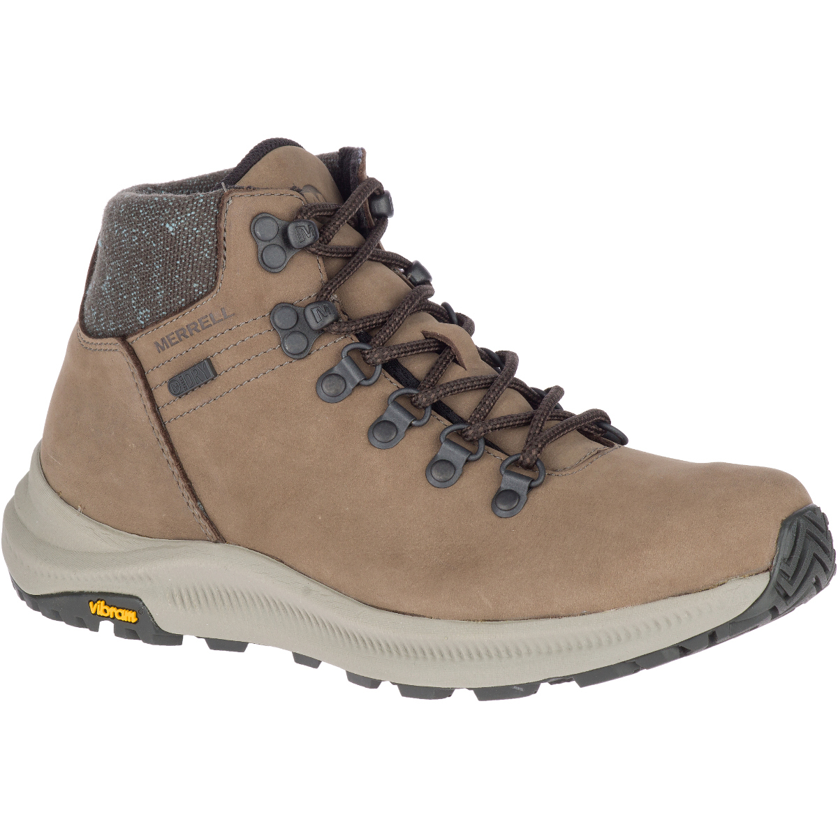 Merrell Women's Ontario Mid Waterproof Hiking Boot - Brown, 6