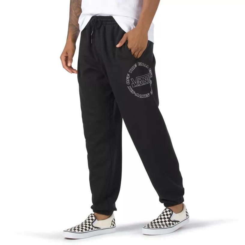 Vans Men's Framework Fleece Pants - Black, L