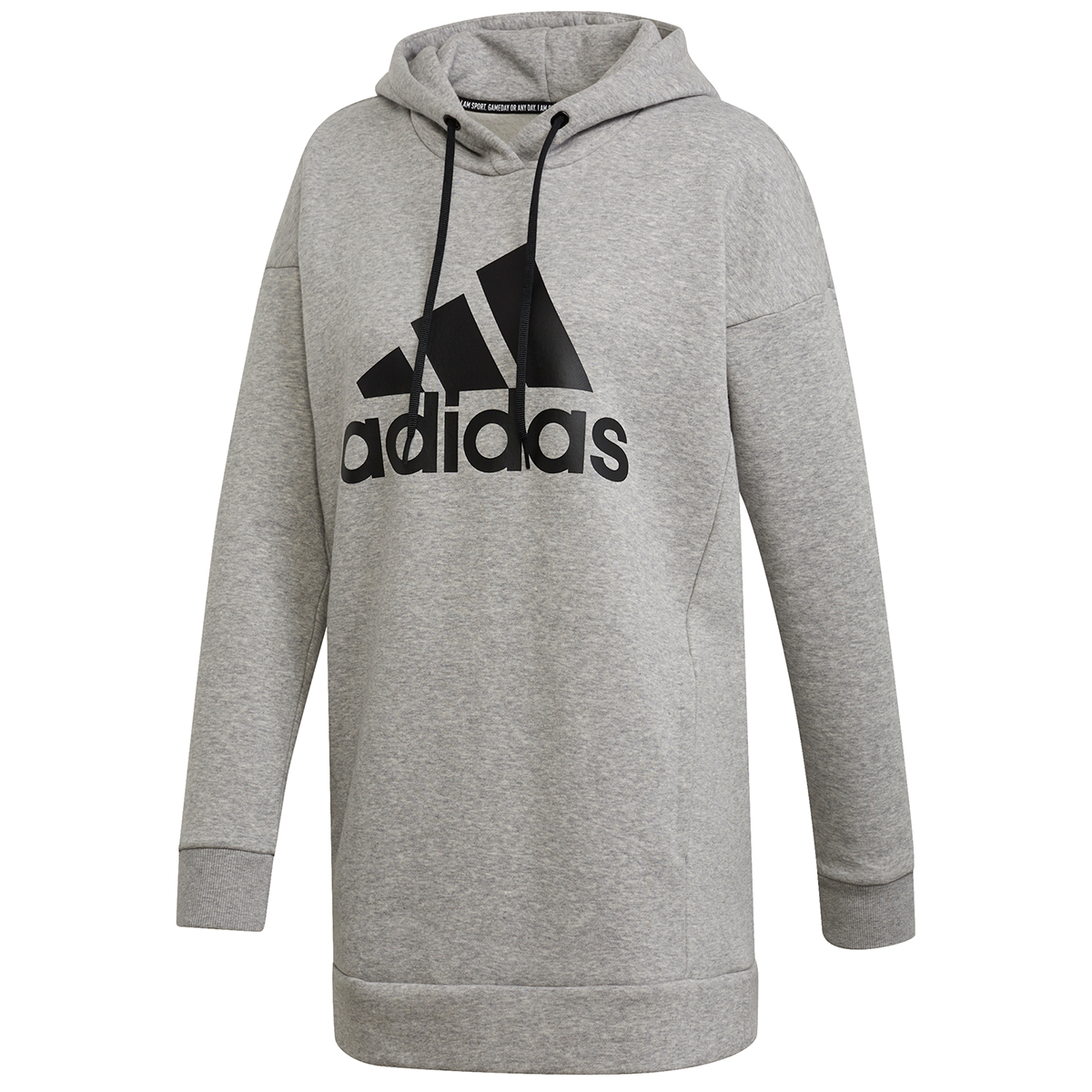 Adidas Women's Must Have Badge Of Sport Pullover Hoodie - Black, M