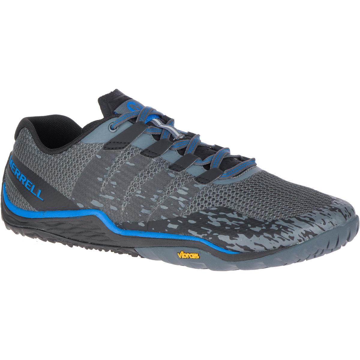 Merrell Men's Trail Glove 5 Barefoot Shoes - Black, 9.5