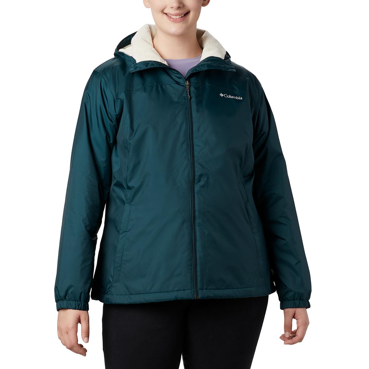 Columbia Women's Switchback Sherpa Lined Jacket - Blue, M