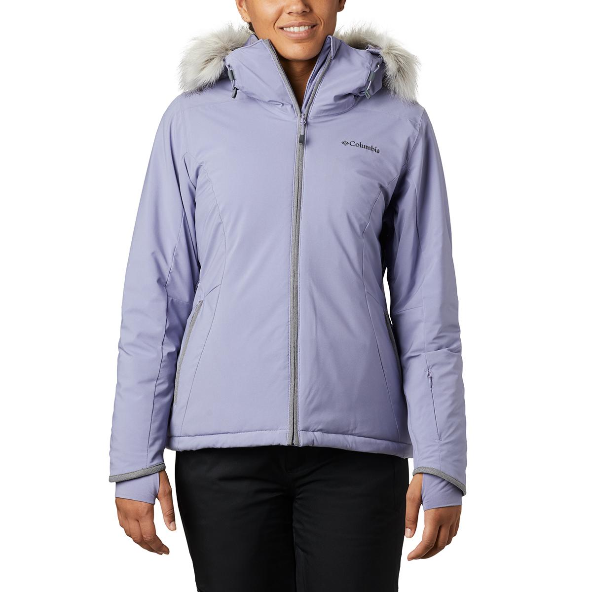 Columbia Women's Alpine Slide Jacket - Red, S
