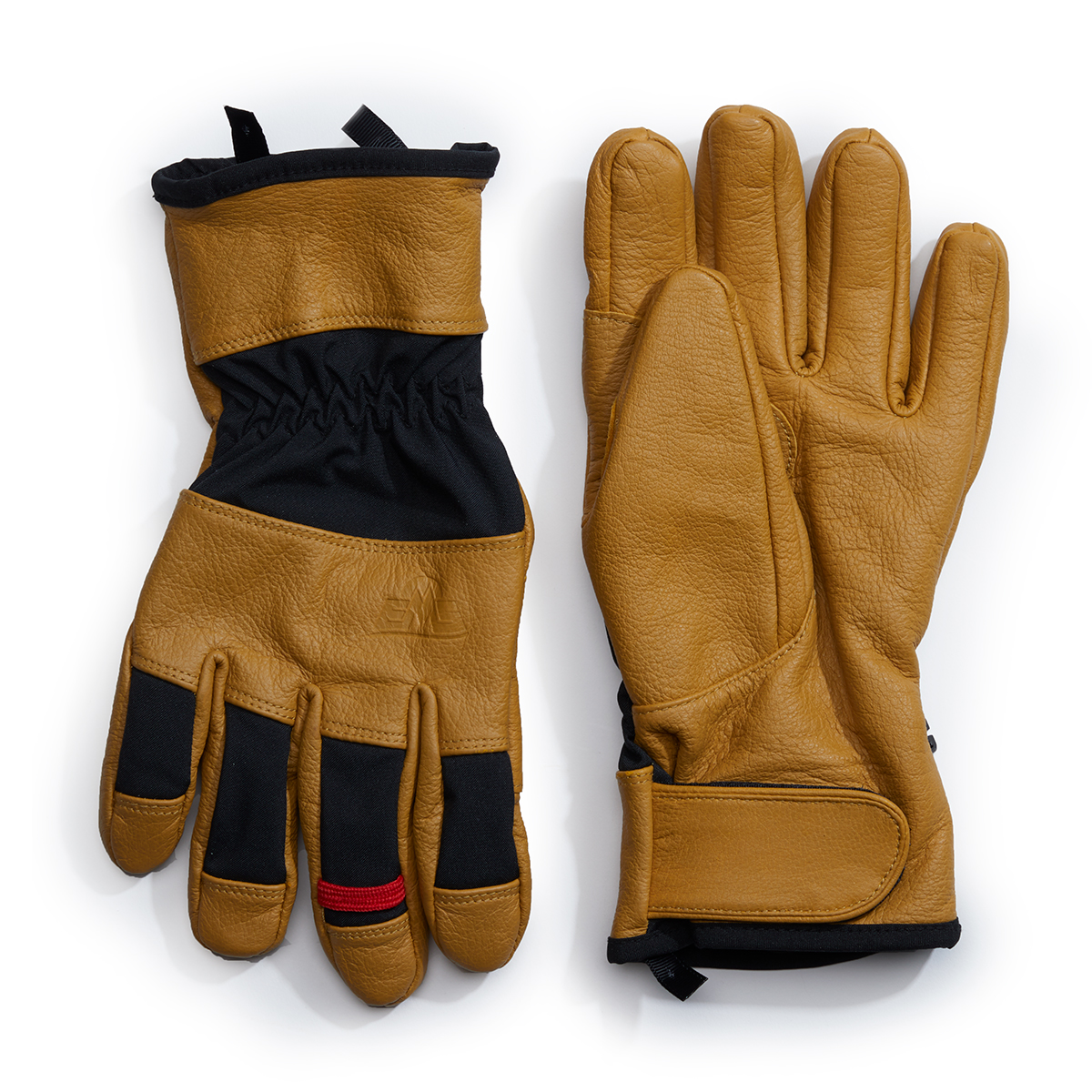 Ems Men's Leather Field Glove - Yellow, M