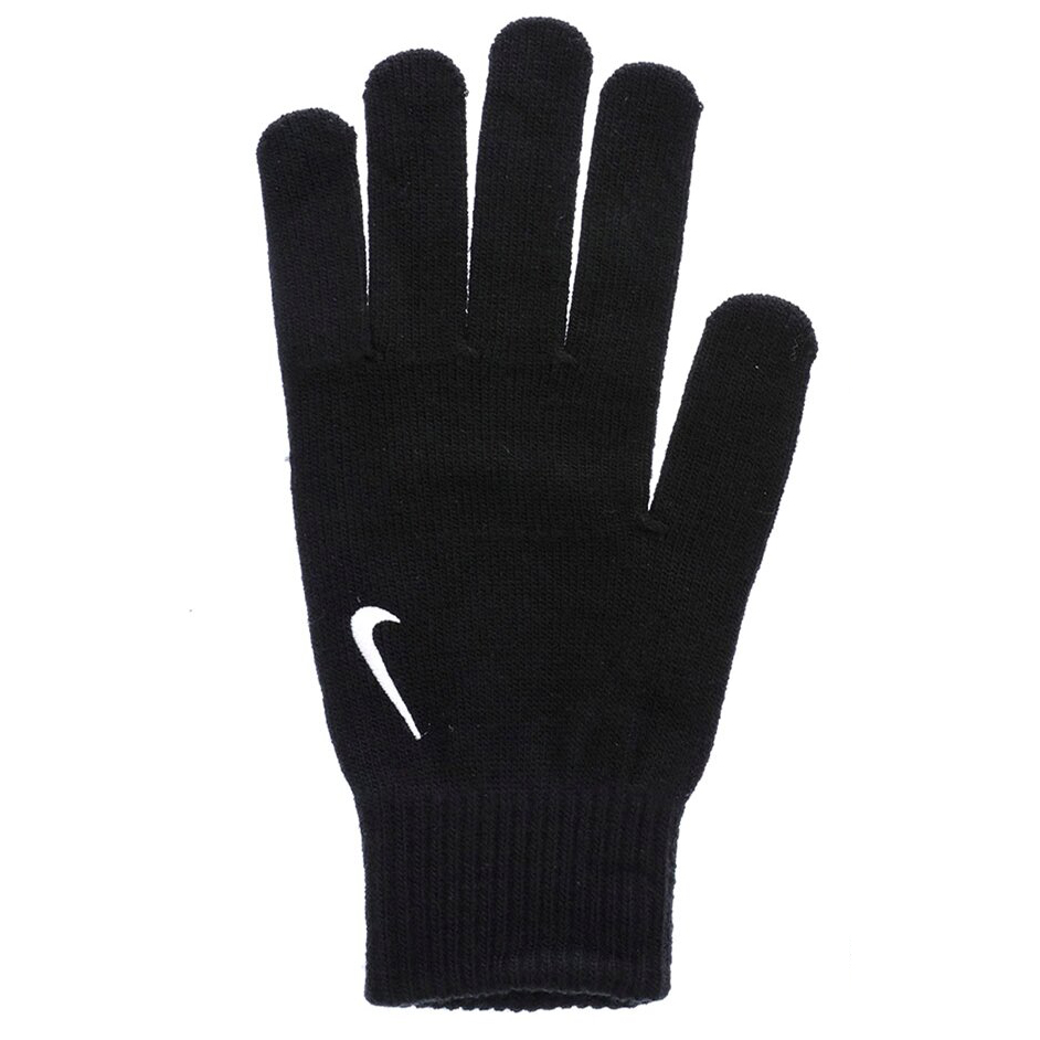 Nike Men's Insulated Swoosh Knit Gloves - Black, S/M