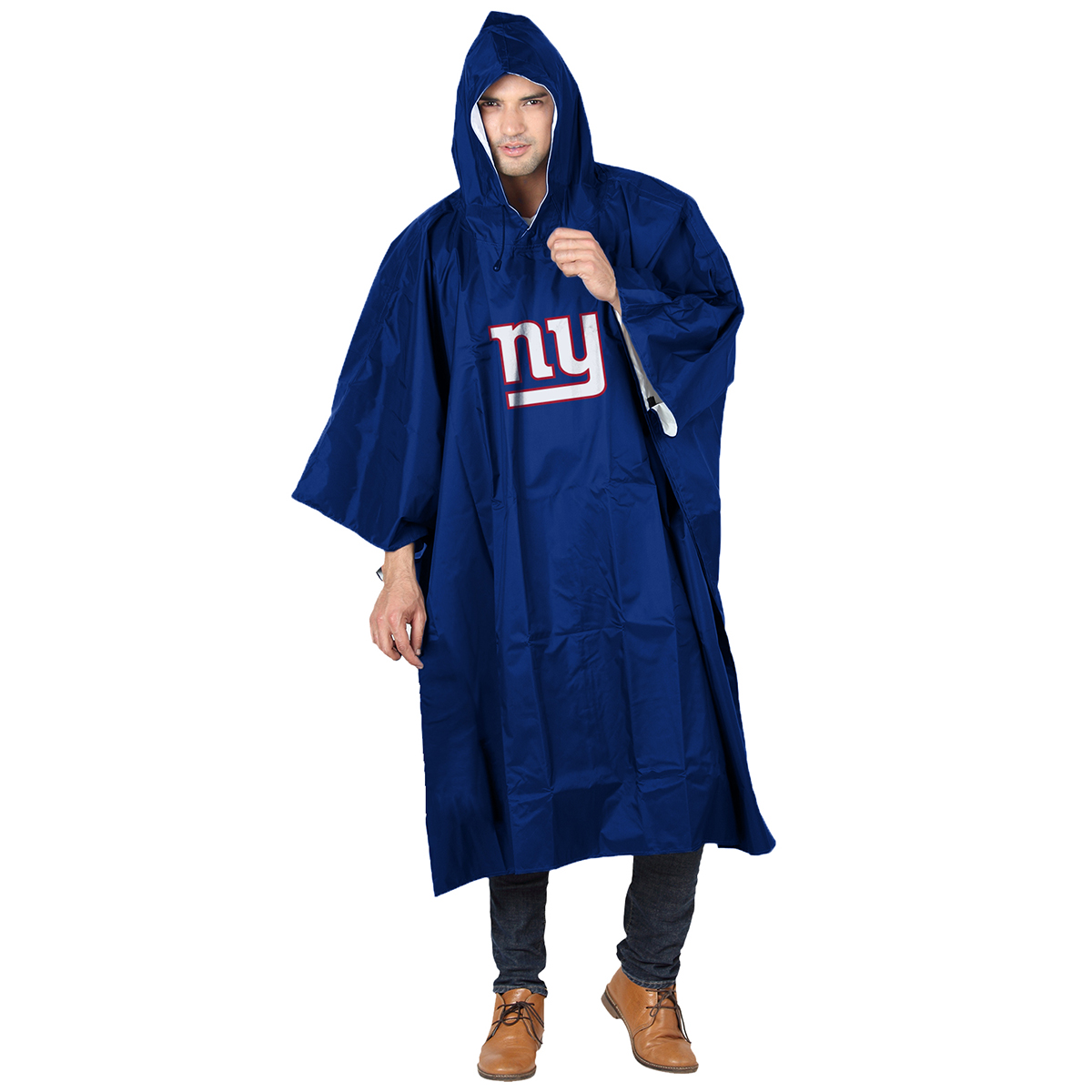 New York Giants Unisex Rainrunner Deluxe Poncho