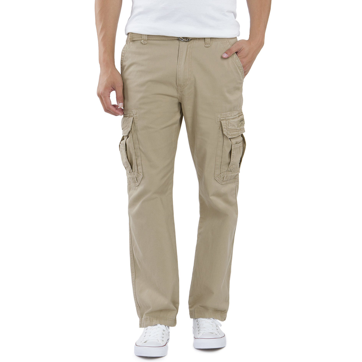 Unionbay Men's Survivor Cargo Pants - Brown, 29/30