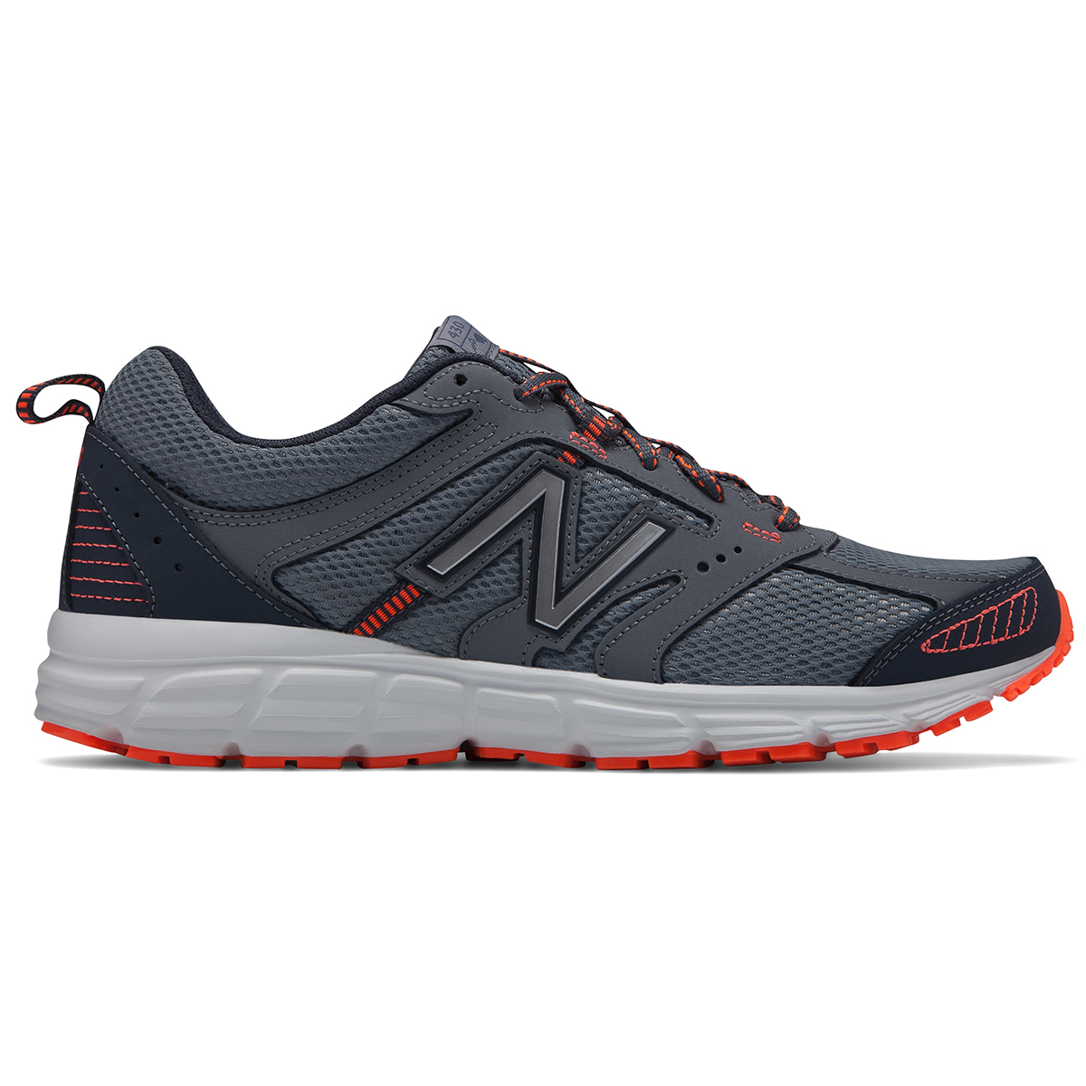 New Balance Men's 430 Running Shoe, Wide - Black, 10.5