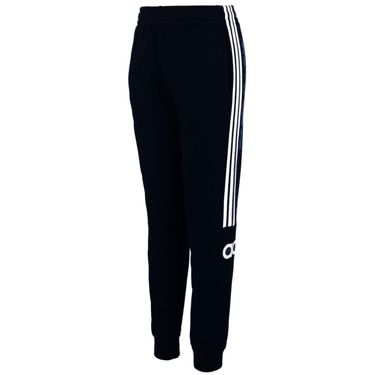 Adidas Boys' Core Linear Jogger Pants - Black, L