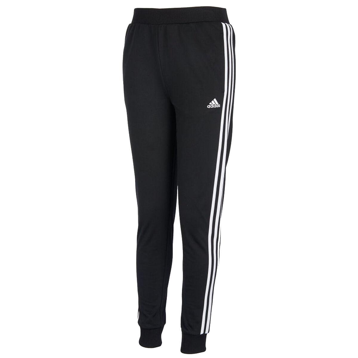 Adidas Girls' Tricot Jogger Pants - Black, M