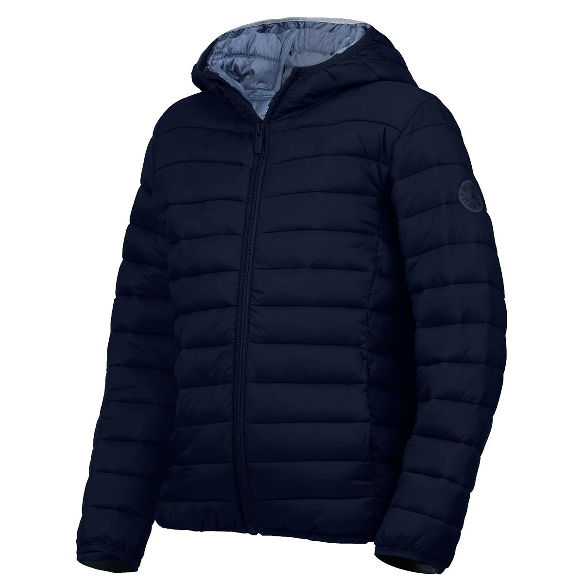 Minoti Little Boys' Basic Puffa Jacket - Blue, 7-8X