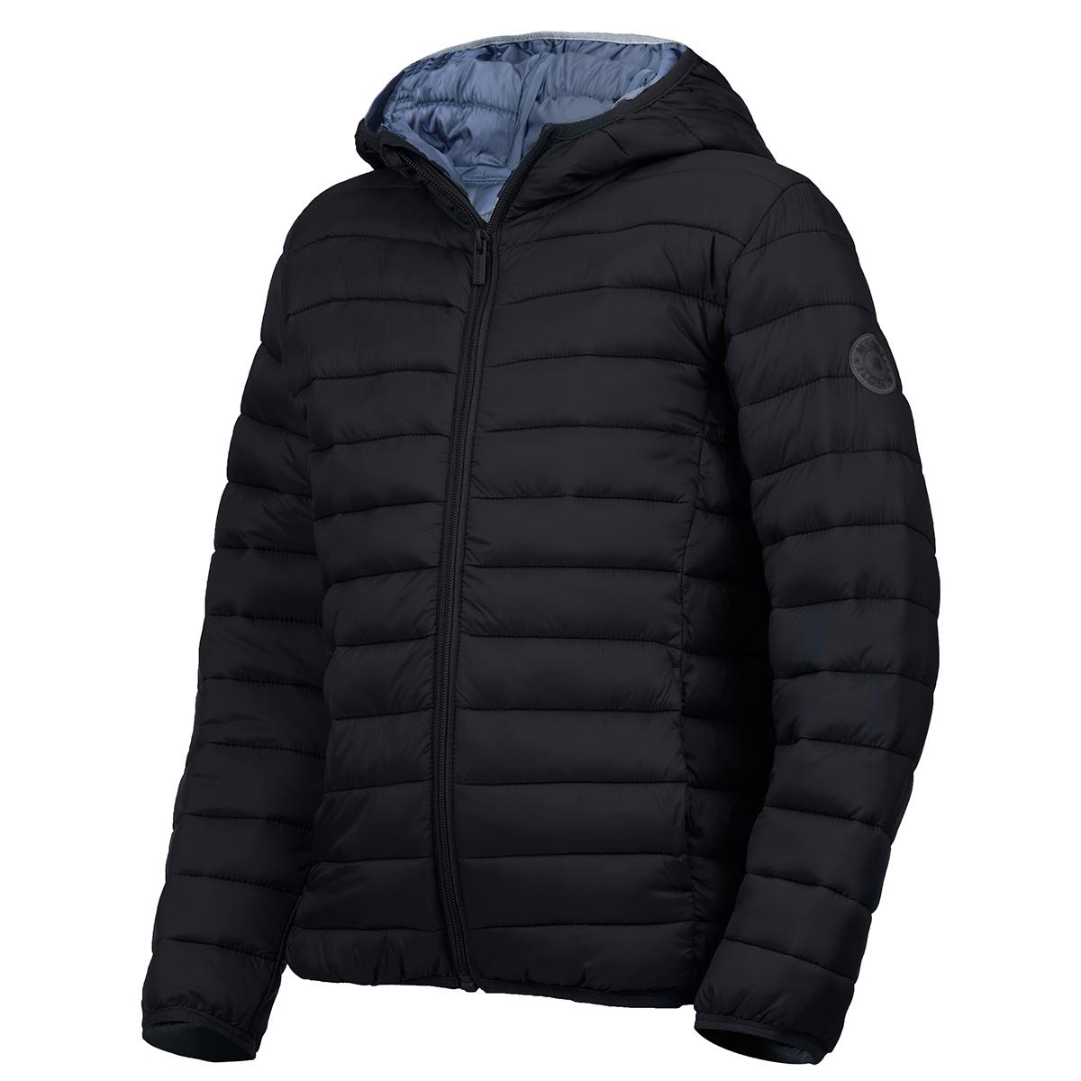 Minoti Big Boys' Basic Puffa Jacket - Black, 3-4