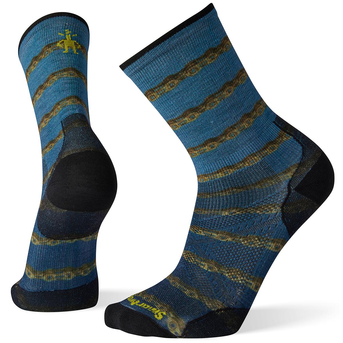 Smartwool Men's Phd Cycle Ultra Light Crew Socks - Black, XL