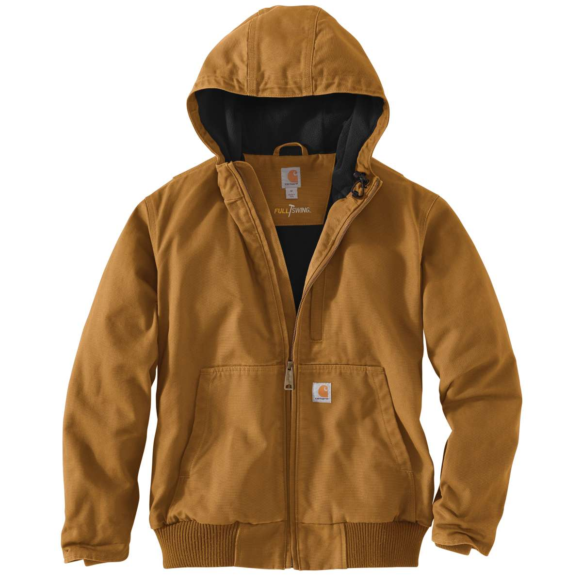 Carhartt Men's Full Swing Armstrong Active Jacket,  Extended Sizes - Brown, 4XL