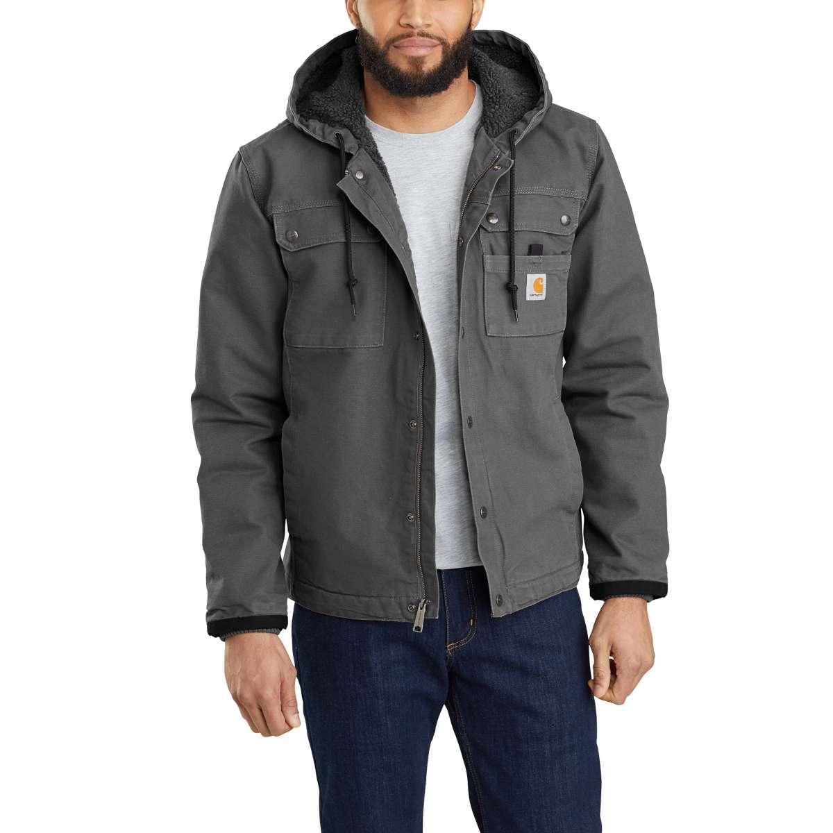 Carhartt Men's Bartlett Jacket, Extended Sizes - Black, 4XL
