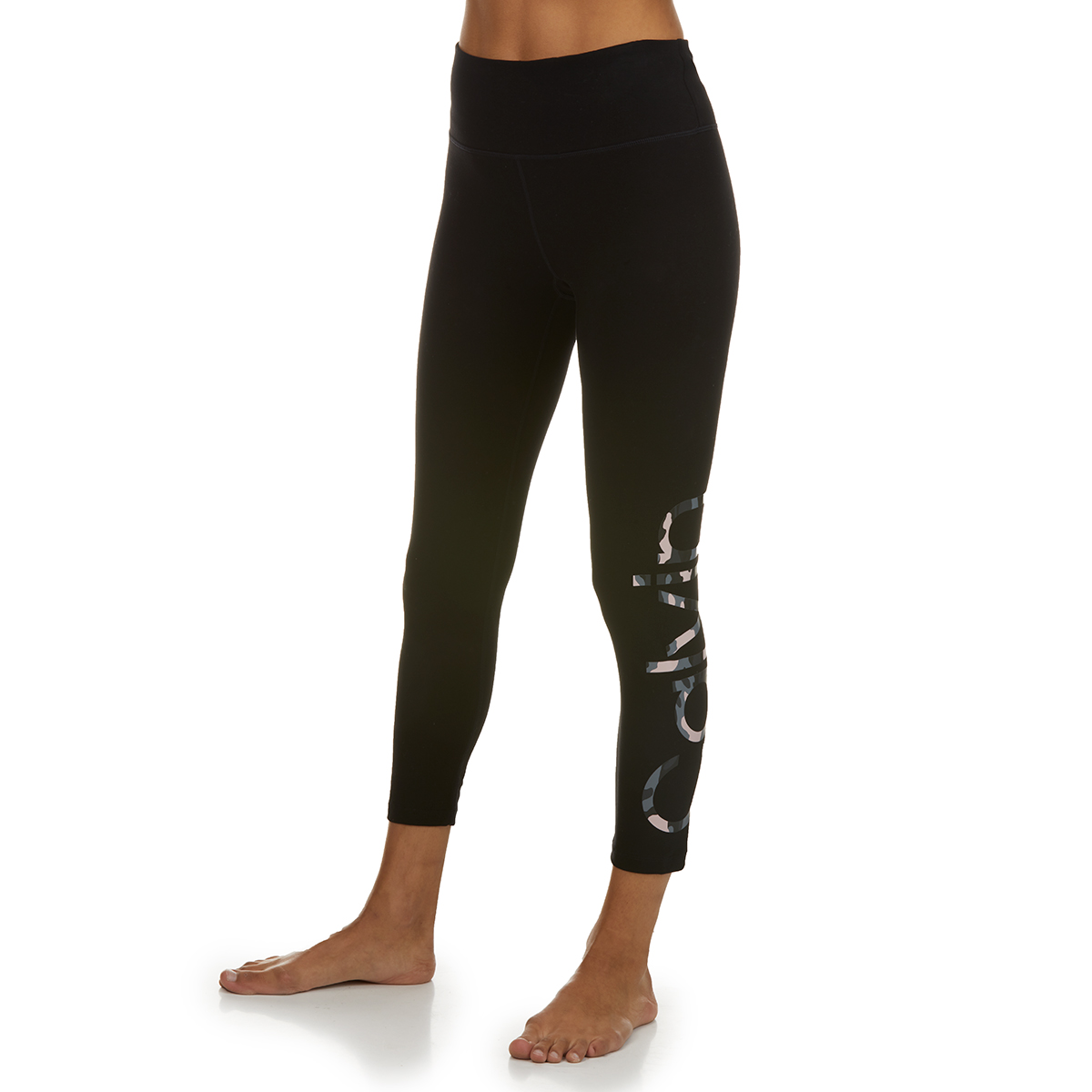 Calvin Klein Women's Performance Logo Leggings - Various Patterns, M